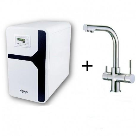 Oferta Osmosis domestica compacta y Grifo de 3 vias