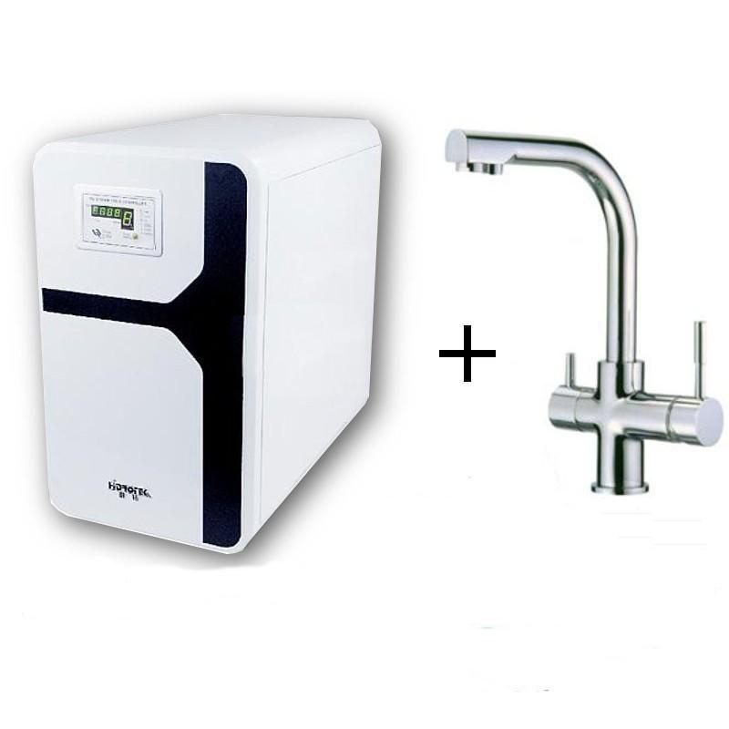 Osmosis domestica compacta y grifo de 3 vias for Grifo osmosis 3 vias