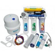 Osmosis inversa MOON 6 etapas con bomba y manometro
