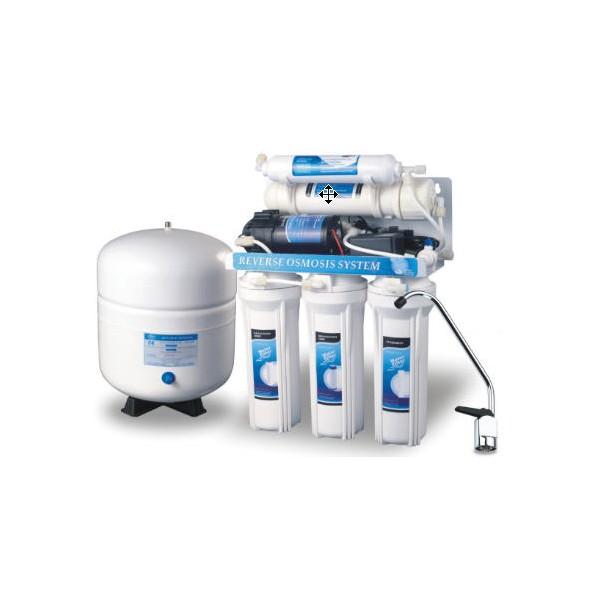 Equipo osmosis inversa de 5 etapas con bomba depuragua.com