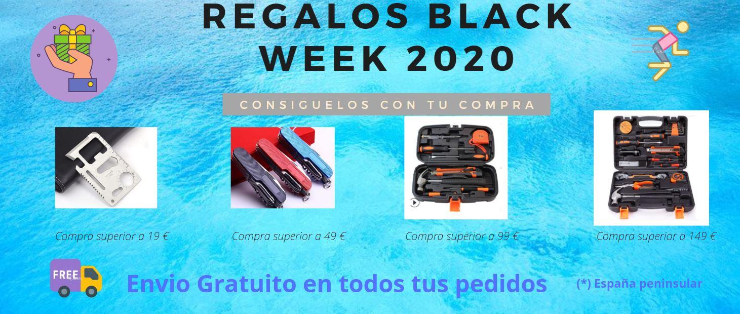Black week 2020 regalos y envio gratuito