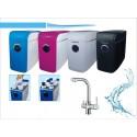 Osmosis domestica compacta RO-75G NT03 Blue con Grifo de 3 Vias