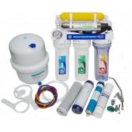 Osmoseur inverse avec pompe 7 étapes manomètre e UV
