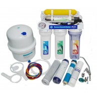 Osmosis inversa 7 etapas con UV , Bomba y manometro