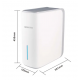 Osmosis compacta Snow Burg 500 GPD. flujo directo 2.000 litros/dia