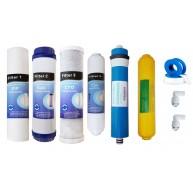 Oferta 6 filtros y membrana 75 GPD MOON con remineralizador