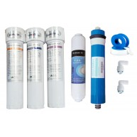 Kit NAtureWater membrana + 4 filtros osmosis inversa