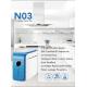 Osmosis inversa compacta RO-75G NT03 Blue con Bomba